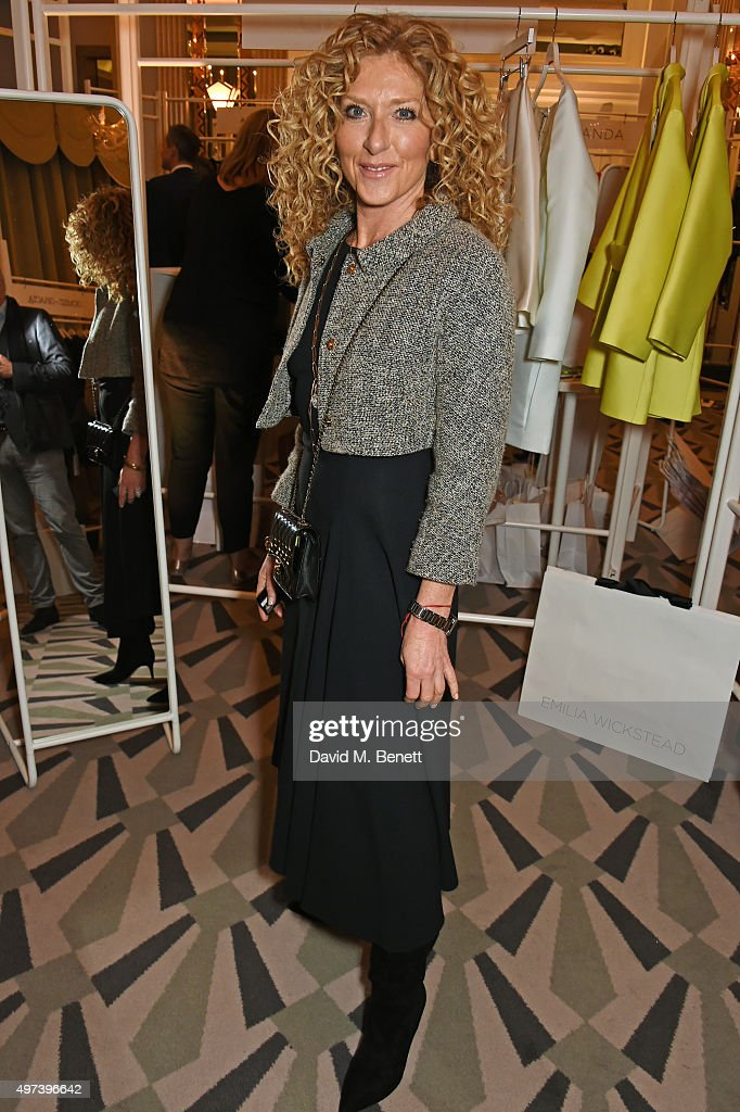Kelly Hoppen attends 'Shop Wear Care', a one-night only shopping event in aid of Great Ormond Street Hospital Children's Charity, at Claridge's Hotel on November 16, 2015 in London, England.
