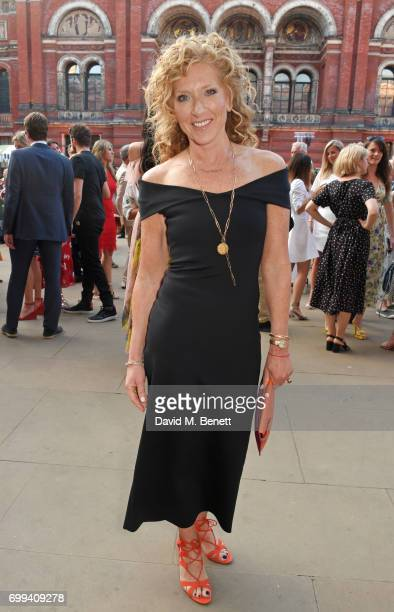 Kelly Hoppen attends the 2017 annual VA Summer Party in partnership with Harrods at the Victoria and Albert Museum on June 21 2017 in London England