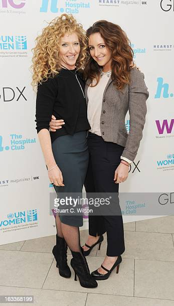 Kelly Hoppen attends the annual WIE Symposium at The Hospital Club on March 8 2013 in London England