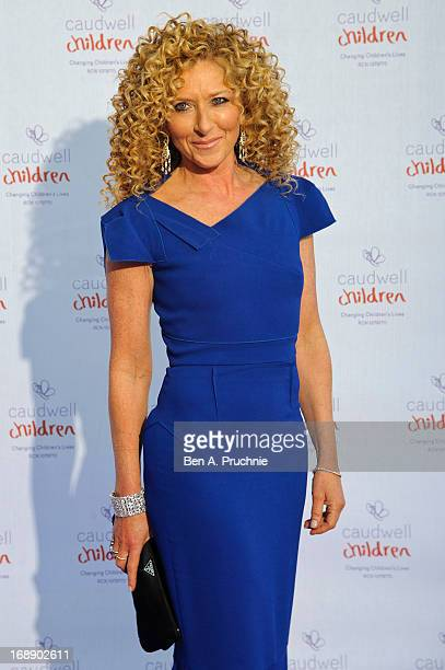 Kelly Hoppen attends The Butterfly Ball A Sensory Experience in aid of the Caudwell Children's charity at Battersea Evolution on May 16 2013 in...