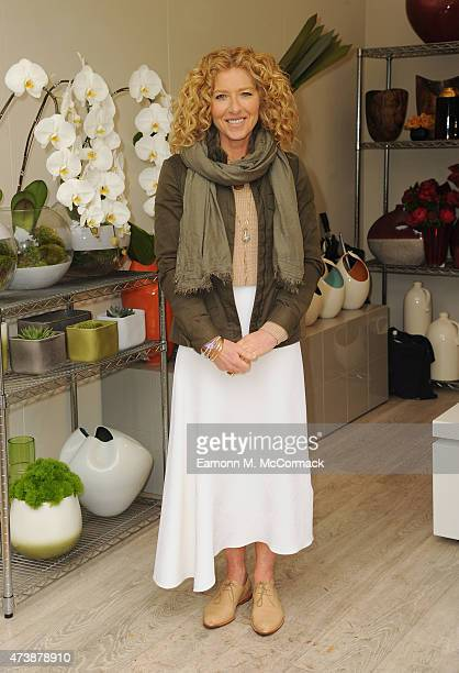 Kelly Hoppen attends the Chelsea Flower Show at Royal Hospital Chelsea on May 18 2015 in London England