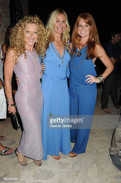 Kelly Hoppen Melissa Odabash and Patsy Palmer attend the Ibiza Summer Party In Aid Of Teenage Cancer Trust and Asociacion Espanola Contra El Cancer...