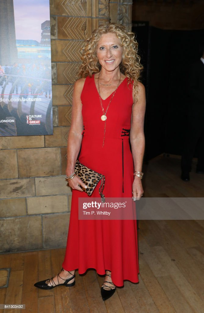 Kelly Hoppen poses for a photo during the London Autumn Season launch at the Natural History Museum on August 31, 2017 in London, England.
