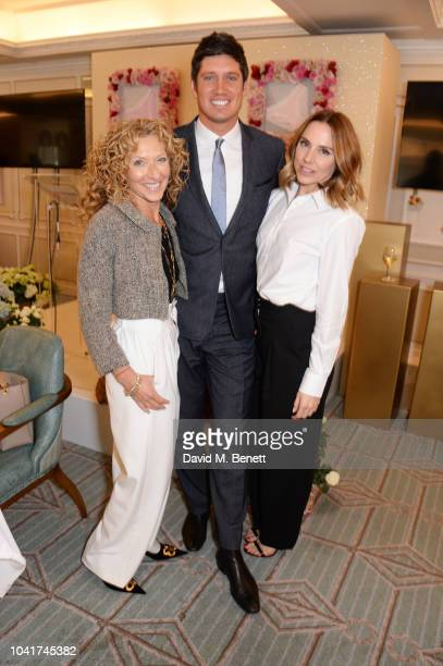 Kelly Hoppen, Vernon Kay and Melanie C attend the 5th annual Lady Garden lunch in support of the Silent No More Gynaecological Cancer Fund at Fortnum...