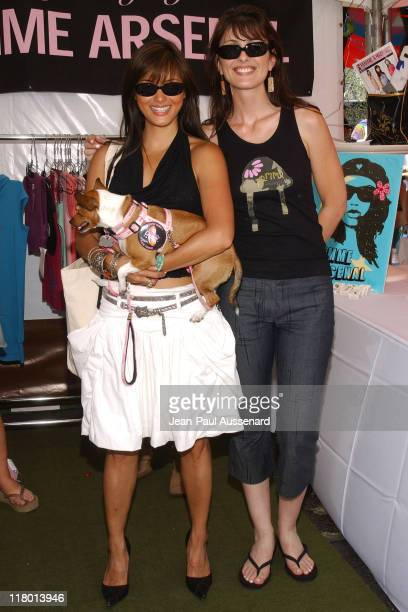 Kelly Hu and Diana Bianchini at Femme Arsenal during Silver Spoon Hollywood Buffet Day One at Private Estate in Hollywood California United States...