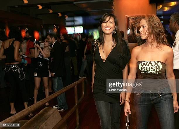 Kelly Hu and guest during Maxim Bloomingdale's Bowls for Dollars Benefitting Rock the Vote Inside at Lucky Strike Lanes in West Hollywood California...