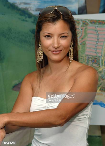 Kelly Hu at Diamante Cabo San Lucas during ESPY Style Lounge Day 2 at Mondrian Hotel in Los Angeles California United States