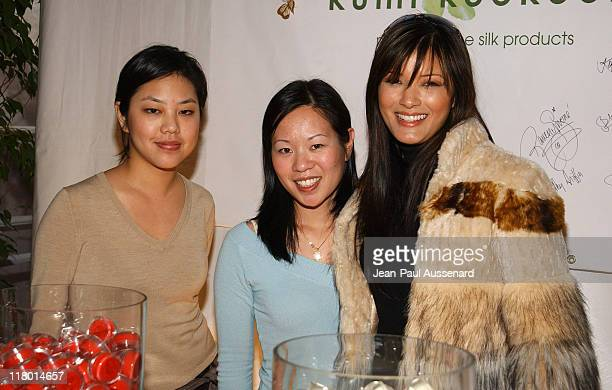 Kelly Hu at Kumi Kookoon during Silver Spoon PreGolden Globe Hollywood Buffet Day 1 at Private Residence in Los Angeles California United States...