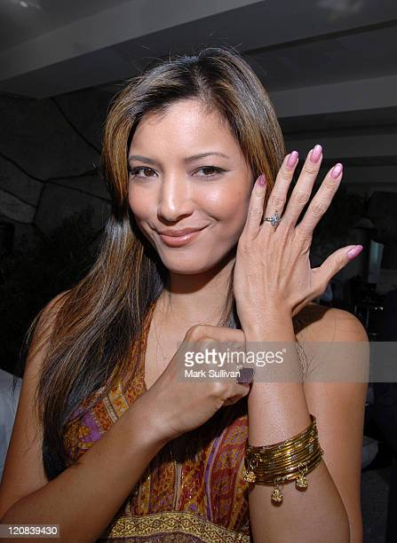 Kelly Hu at the Diamond Information Center Diamond Aquifer Mystical Retreat *EXCLUSIVE* Photo by Mark Sullivan/WireImage for Diamond Information...