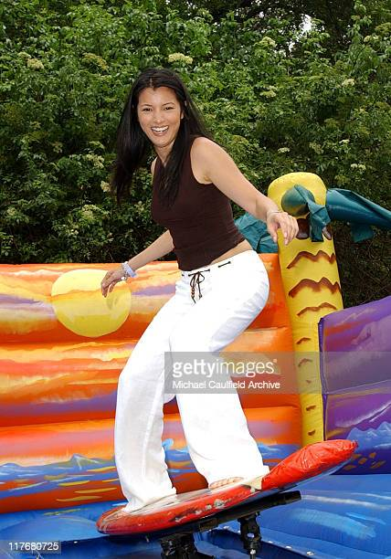 Kelly Hu at The Target A Time for Heroes Celebrity Carnival Benefitting the Elizabeth Glaser Pediatric AIDS Foundation