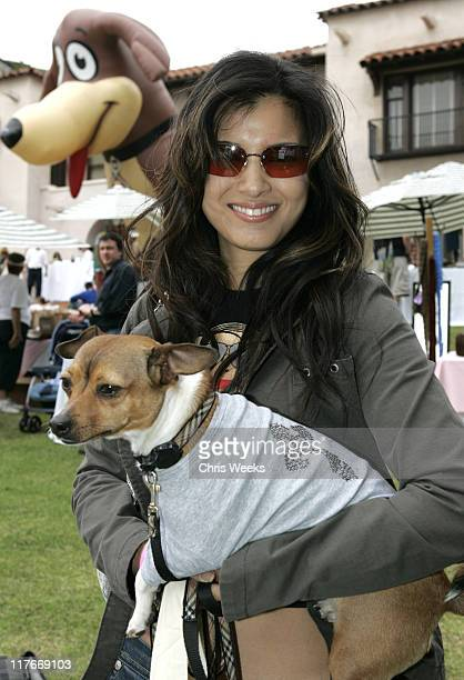 Kelly Hu at Troo during Silver Spoon Hollywood Buffet for Dogs and Babies - Day 2 in Los Angeles, California, United States.