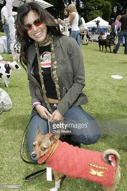 Kelly Hu at Wagdolls during Silver Spoon Hollywood Buffet for Dogs and Babies - Day 2 in Los Angeles, California, United States.