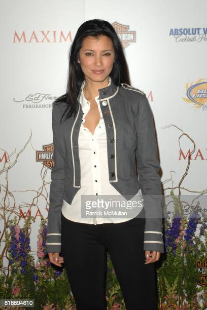 Kelly Hu attends THE MAXIM HOT 100 PARTY 2010 at Paramount Studios on May 19 2010 in Hollywood California