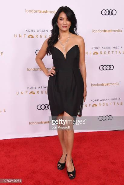 Kelly Hu attends the Unforgettable Gala 2018 at The Beverly Hilton Hotel on December 8, 2018 in Beverly Hills, California.