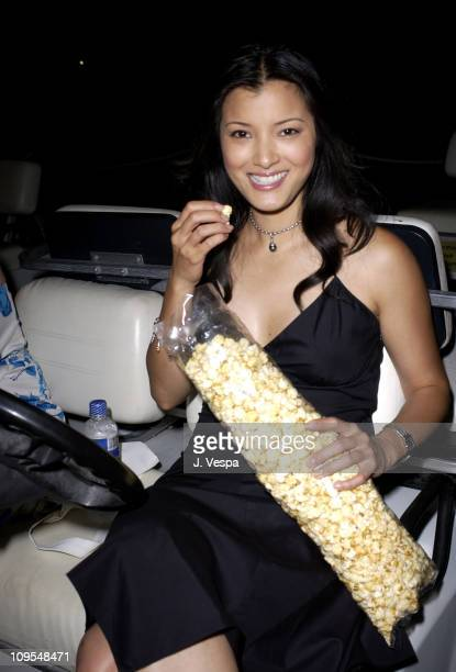 Kelly Hu during 2003 Maui Film Festival 'Step Into Liquid' Premiere at Celestial Cinema in Maui Hawaii United States