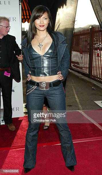 Kelly Hu during 2004 Movieline Young Hollywood Awards Red Carpet Sponsored by Hollywood Life at Avalon Hollywood in Hollywood California United States
