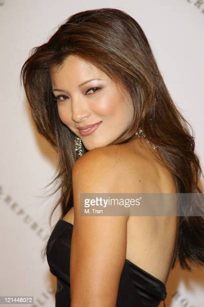 Kelly Hu during 2007 Award of Hope Gala Arrivals at Beverly Wilshire Four Seasons Hotel in Beverly Hills California United States