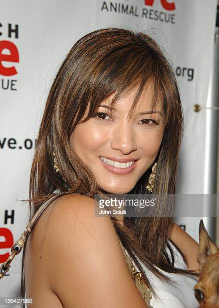 Kelly Hu during 4th Annual Much Love Animal Rescue Celebrity Comedy Benefit Red Carpet at The Laugh Factory in Los Angeles California United States