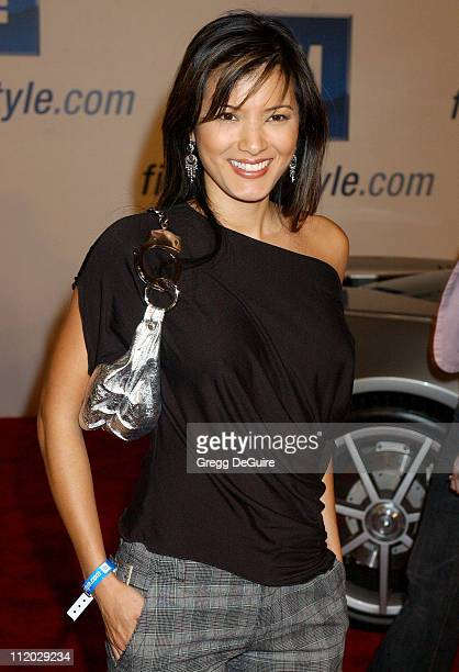 """Kelly Hu during 4th Annual """"ten"""" Fashion Show Presented By General Motors at Pavilion in Hollywood in Hollywood, California, United States."""