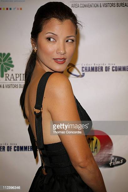 Kelly Hu during 6th Annual Tribeca Film Festival The Final Season Arrivals at Pace University's Schimmel Center for the Arts in New York City New...