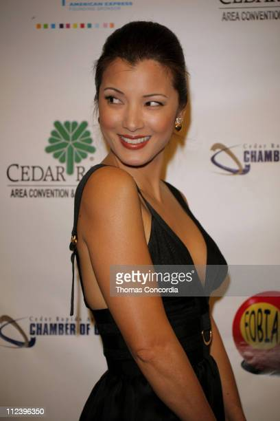 Kelly Hu during 6th Annual Tribeca Film Festival 'The Final Season' Arrivals at Pace University's Schimmel Center for the Arts in New York City New...