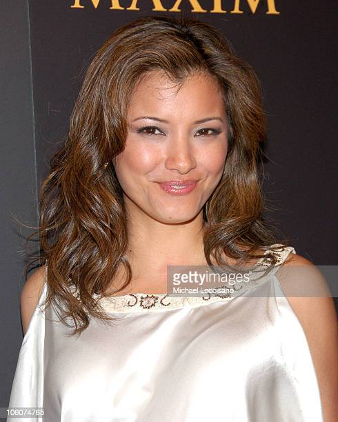 Kelly Hu during 7th Annual Maxim Hot 100 Party at Buddha Bar in New York City New York United States
