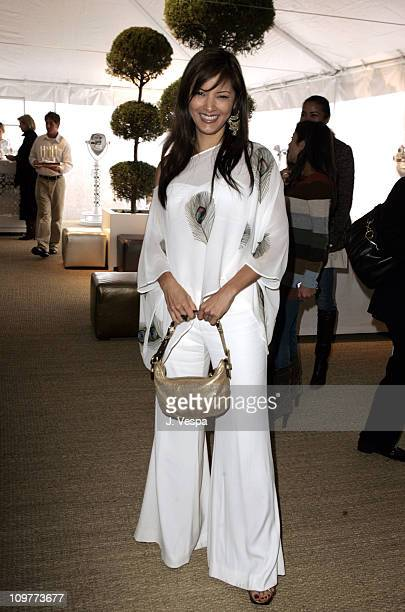 Kelly Hu during Coach Flagship Store Opening on Rodeo Drive at Coach Store in Beverlry Hills, California, United States.