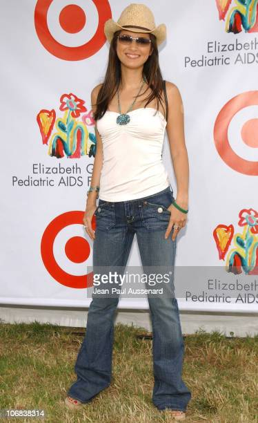 """Kelly Hu during Elizabeth Glaser Pediatric AIDS Foundation 2005 """"A Time For Heroes"""" Celebrity Carnival - Arrivals in Los Angeles, California, United..."""