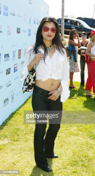Kelly Hu during Frankie B Fashion Show Event at Lake Hollywood Park at Lake Hollywood Park in Los Angeles California United States