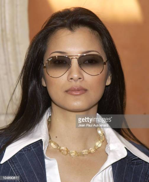 Kelly Hu during Frederic Fekkai Oscar Beauty and Fashion Suite Day 4 at Frederic Fekkai in Beverly Hills California United States