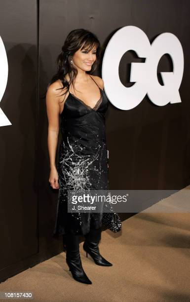 Kelly Hu during GQ Magazine Celebrates its 2004 Men of the Year Red Carpet at Lucques Restaurant and Ago Restaurant in Los Angeles California United...