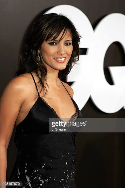 Kelly Hu during GQ Magazine Celebrates its 2004 Men of the Year - Red Carpet at Lucques Restaurant and Ago Restaurant in Los Angeles, California,...