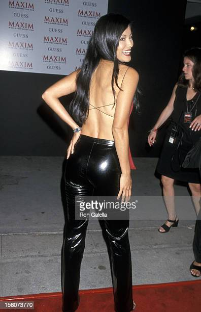 Kelly Hu during Grand Opening Party for Maxim Hotel at Maxim Hotel in Hollywood California United States