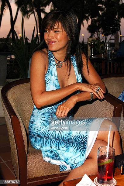 Kelly Hu during Kelly Slater Invitational Fiji Day 1 Sheraton Resorts Denarau Island at Sheraton Resorts Denarau Island in Denarau Island Denarau...