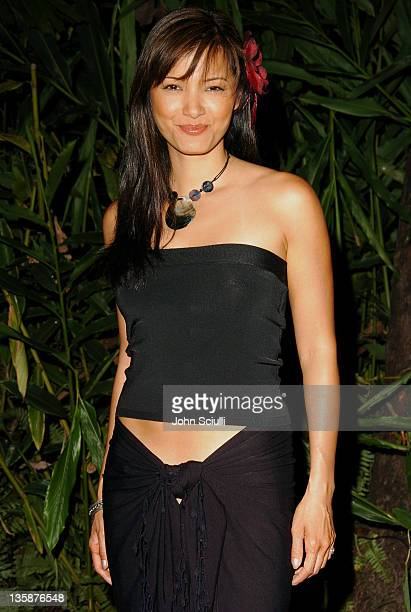 Kelly Hu during Kelly Slater Invitational Fiji Day 2 Fijian Welcome Ceremony and Dinner at Sheraton Resorts Denarau Island in Denarau Island Denarau...