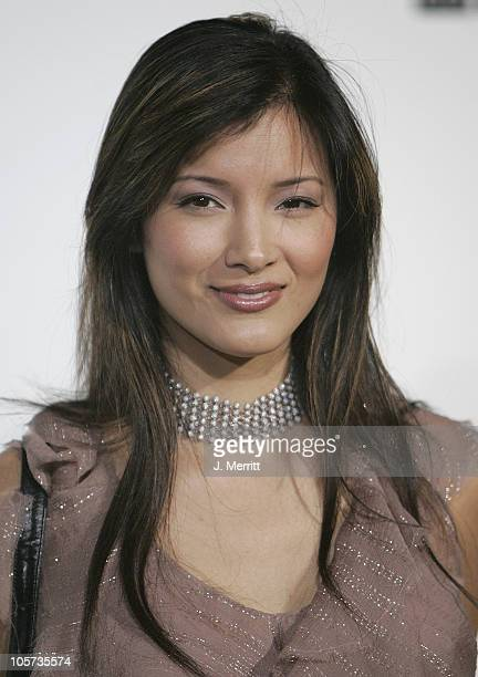 Kelly Hu during Marc Jacobs Comes to Los Angeles at Marc Jacobs Store in Los Angeles, California, United States.