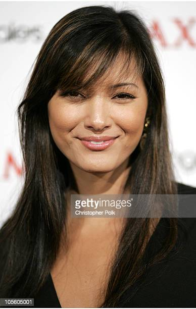 Kelly Hu during Maxim and Bloomingdales Bowl to Benefit Rock the Vote Arrivals at Lucky Strike Lanes in Hollywood California United States
