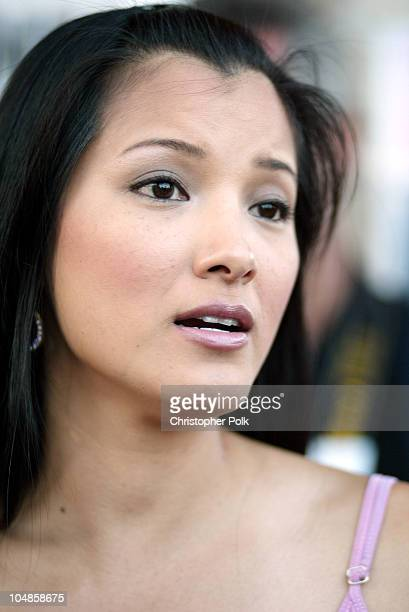 Kelly Hu during Much Love Animal Rescue Hosts its Second Annual Comedy Charity Event at The Laugh Factory in Hollywood California United States
