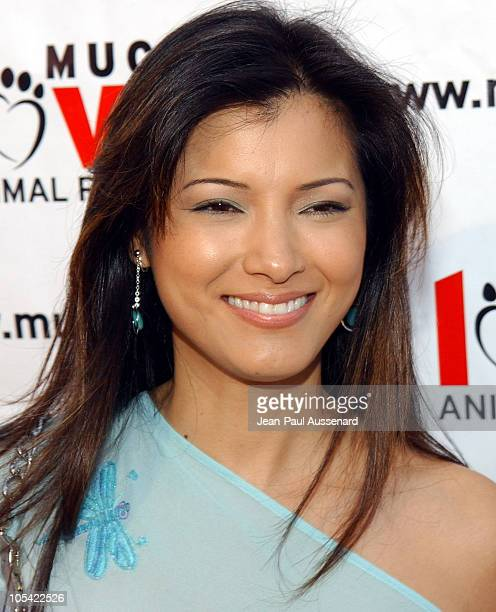 """Kelly Hu during Much Love Animal Rescue """"Shop 'Til You Drool"""" Benefit at 5th and Sunset Studios Los Angeles in Los Angeles, California, United States."""