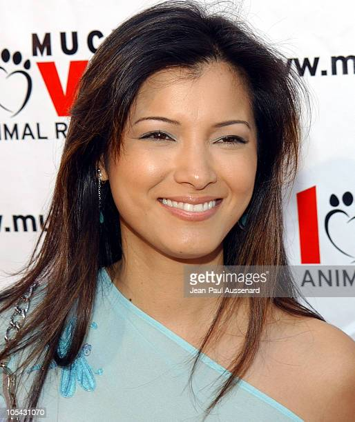 Kelly Hu during Much Love Animal Rescue Shop 'Til You Drool Benefit at 5th and Sunset Studios Los Angeles in Los Angeles California United States