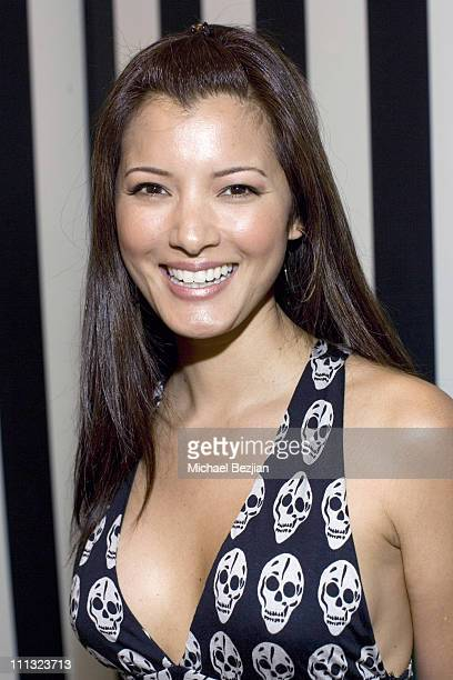 Kelly Hu during Napoleon Perdis Unveils Summer Collection at Hollywood Inauguration at Napoleon Perdis Hollywood Flagship Store in Hollywood...