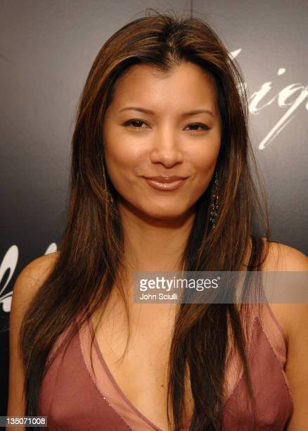 Kelly Hu during Oakley Women's Eyewear Launch Party at Sunset Tower Hotel in West Hollywood California United States