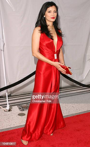 Kelly Hu during Placido Domingo & Friends Concert & Gala at Dorothy Chandler Pavilion in Los Angeles, CA, United States.