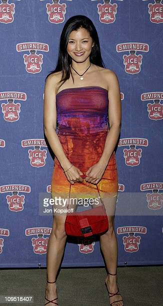 Kelly Hu during Smirnoff Ice Endeavor Talent Agency Preparty for the MTV Movie AwardsArrivals at Pacific Design Center in Los Angeles California...