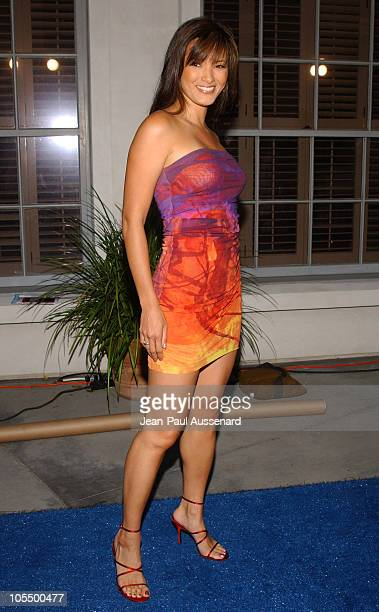 Kelly Hu during Surfrider Foundation 20th Anniversary Celebration Arrivals at Sony Pictures Studios in Culver City California United States