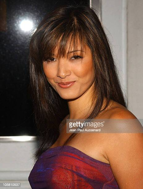 Kelly Hu during Surfrider Foundation 20th Anniversary Celebration - Arrivals at Sony Pictures Studios in Culver City, California, United States.