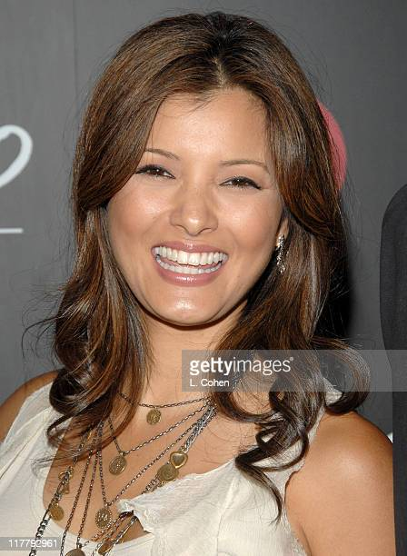 Kelly Hu during Target Hosts LA Fashion Week Party for Designer Mossimo Giannulli at Area in Los Angeles California United States