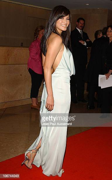 Kelly Hu during The 18th Annual Genesis Awards and 50th Anniversary of the Humane Society of the United States - Arrivals at Beverly Hilton in...