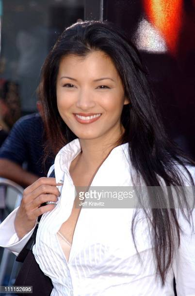 Kelly Hu during 'XXX' Los Angeles Premiere in Westwood California United States