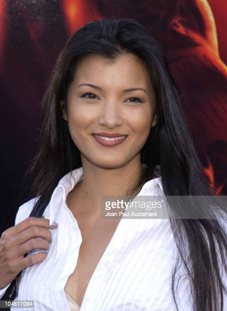 Kelly Hu during 'XXX' Premiere in Los Angeles at Mann's Village in Westwood California United States